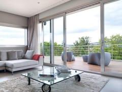 Porta-finestra a taglio termico scorrevole in alluminioSchüco AWS 75 BS.HI - SCHÜCO INTERNATIONAL ITALIA