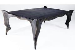 - Rectangular steel table GOTHIC - ICI ET LÀ