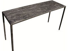 - Rectangular iron console table EMPREINTES HUELLAS | Console table - ICI ET LÀ