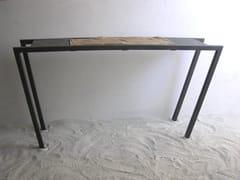- Rectangular iron console table SORRA CONSOLA - ICI ET LÀ
