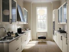 Cucina in frassino con maniglie