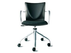 - Task chair with 5-Spoke base with armrests TALK | Task chair with armrests - ENEA