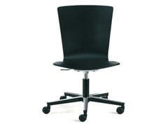 - Task chair with 5-Spoke base with casters LOGICA | Task chair - ENEA