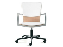 - Task chair with 5-Spoke base with armrests LOGICA | Task chair with armrests - ENEA