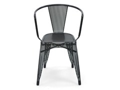 - Wire mesh chair with armrests A56 | Wire mesh chair - Tolix Steel Design