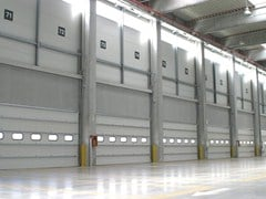 Motorised industrial door FIDELITY® - CAMPISA