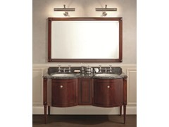 - Classic style double mahogany vanity unit CHESTER | Double Vanity unit - GENTRY HOME