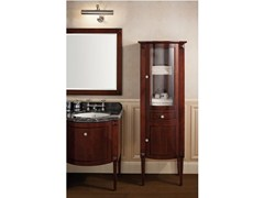 - Classic style wooden bathroom cabinet with doors CHESTER | Étagère - GENTRY HOME