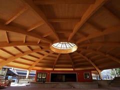 Strutture in legno lamellareStruttura per copertura in legno e capriata in legno - GALLOPPINI LEGNAMI