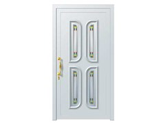 - Glass and aluminium armoured door panel PEGASO/K4 - ROYAL PAT