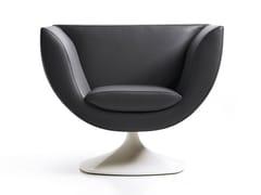 - Swivel armchair with fire retardant padding SPLINE | Swivel armchair - ESTEL GROUP