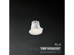Faretto a LED da incasso FL-3 | Faretto - METALMEK ILLUMINAZIONE