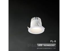 Faretto a LED da incasso FL-9 | Faretto - METALMEK ILLUMINAZIONE