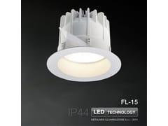 Faretto a LED da incasso FL-15 | Faretto - METALMEK ILLUMINAZIONE