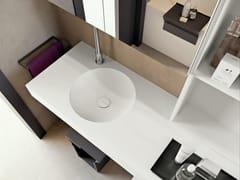 - Undermount Corian® washbasin CUP - MAKRO