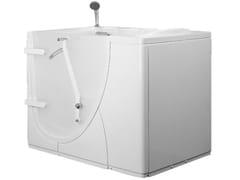 Vasca da bagno in vetroresina con porta650   Vasca da bagno in vetroresina - PONTE GIULIO