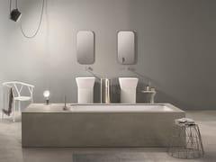 - Undermount Corian® bathtub WAVE - MAKRO