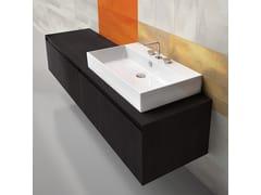 - Rectangular ceramic washbasin PREMIUM 80   Washbasin - CERAMICA CATALANO