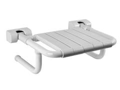 Sedile doccia ribaltabile in acciaio zincatoTUBOCOLOR   Sedile doccia in acciaio zincato - PONTE GIULIO