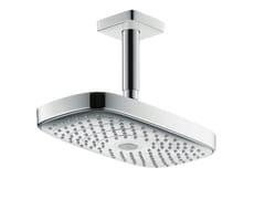 - 2-spray rain shower RAINDANCE SELECT E 300 | Ceiling mounted overhead shower - HANSGROHE