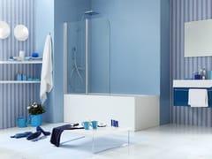 - Glass bathtub wall panel WEB 1.0 - MEGIUS