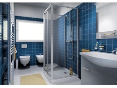 - Shower cabin with sliding door CLASSIC P1S - MEGIUS
