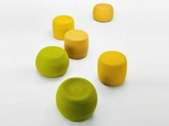 - Pouf with removable lining OTTO | Pouf - Paola Lenti