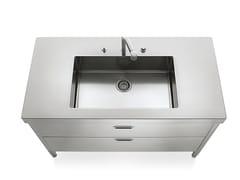 Cucina / lavello in acciaio inoxLIBERI IN CUCINA | Lavello - ALPES-INOX