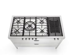 Cucina / cucina a libera installazione in acciaio inoxLIBERI IN CUCINA | Cucina a libera installazione in acciaio inox - ALPES-INOX