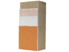 - Wood fibre Exterior insulation system NORDTEX SYSTEM 190 - NORDTEX