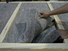 - Natural insulating felt and panel for sustainable building KLIMALAN PRO - NORDTEX