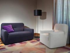 - Fabric small sofa CLUBINA   Fabric small sofa - ESTEL GROUP