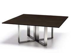 - Rectangular aluminium coffee table ALTAGAMMA | Rectangular coffee table - ESTEL GROUP