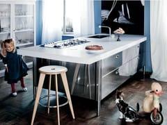 Modulo cucina freestanding in acciaio inoxLIBERI IN CUCINA | Cucina - ALPES-INOX