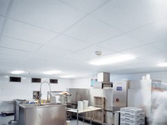 Pannelli per controsoffitto fonoassorbentePARAFON HYGIEN - ARMSTRONG BUILDING PRODUCTS