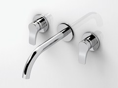 - 3 hole wall-mounted washbasin tap AL/23 | 3 hole washbasin tap - ABOUTWATER