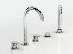 - 5 hole bathtub set with hand shower AL/23 | 5 hole bathtub set - ABOUTWATER