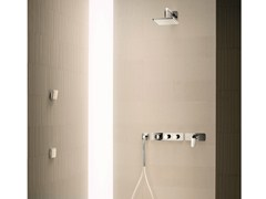 - Thermostatic shower mixer with hand shower LEVANTE | Shower mixer with hand shower - Fantini Rubinetti