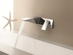 - Wall-mounted washbasin mixer BELVEDERE | Wall-mounted washbasin mixer - Fantini Rubinetti