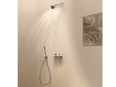 - Shower mixer with overhead shower BELVEDERE | Shower mixer with overhead shower - Fantini Rubinetti