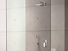 - Shower mixer with diverter with hand shower AR/38 | Shower mixer with diverter - Fantini Rubinetti