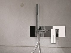 - Wall-mounted bathtub mixer with diverter AR/38 | Bathtub mixer with diverter - Fantini Rubinetti