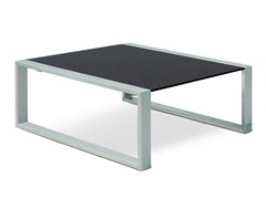 - Low Square garden side table MESITA 78 LOUNGE - FueraDentro