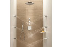 - 4 hole thermostatic shower mixer DOLCE | Thermostatic shower mixer - Fantini Rubinetti