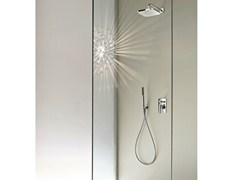 - Shower mixer with diverter with hand shower DOLCE | Shower mixer with diverter - Fantini Rubinetti