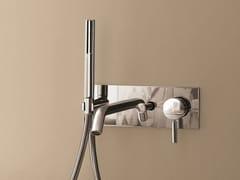 - Wall-mounted bathtub mixer with plate NOSTROMO - 1620A/2620B - Fantini Rubinetti