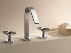 - 3 hole countertop washbasin tap RIVIERA | 3 hole washbasin tap - Fantini Rubinetti