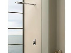 - Single handle shower mixer with overhead shower RIVIERA | Single handle shower mixer - Fantini Rubinetti
