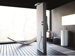 - Floor standing multifunction shower panel ACQUAPURA | Floor standing shower panel - Fantini Rubinetti