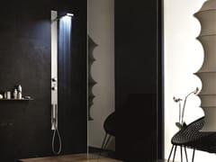 - Wall-mounted multifunction shower panel ACQUAZZURRA | Shower panel - Fantini Rubinetti